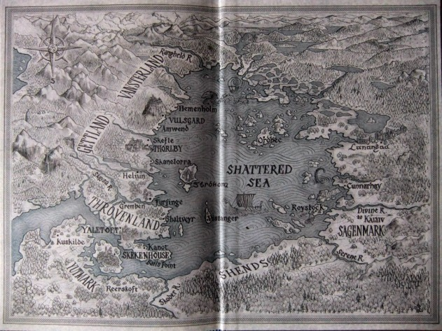 Half a King Map